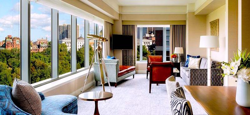 View from the Ritz-Carlton Boston