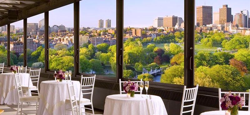 View of the Public Garden from the Taj Boston Hotel