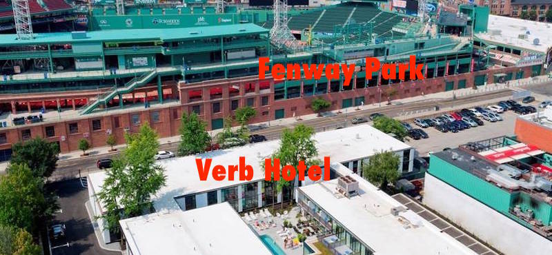 Verb Hotel, top choice near Boston's Fenway Park