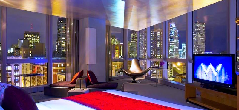 W Hotel, top choice near Boston's Theatre District
