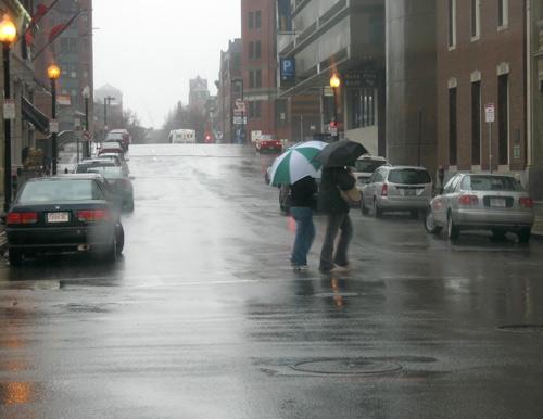 Boston in the rain / Boston Activities / www.boston-discovery-guide.com
