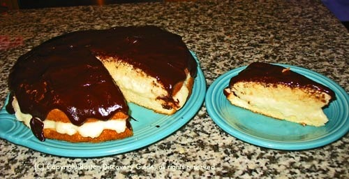 Boston cream pie recipe  from boston-discovery-guide.com
