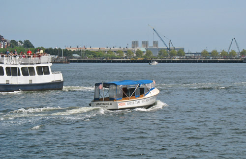 Best Boston cruises - water taxis!