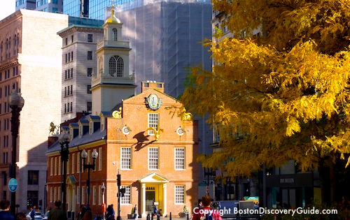Boston history timeline / www.boston-discovery-guide.com