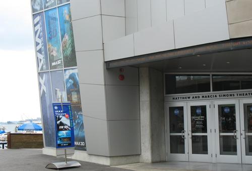 Photo of popular Boston movie theater - Simons IMAX Theater at New England Aquarium
