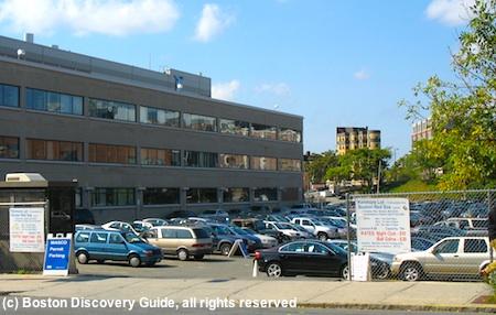 Best Boston parking garages in Fenway