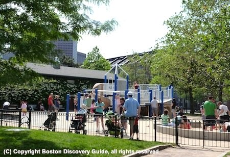 Photo - Children's playground in Christopher Columbus Park next to the Marriott Long Wharf