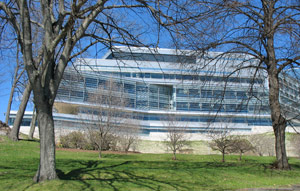 Brandeis University - campus building photo