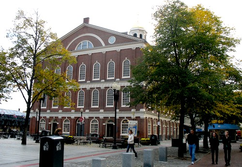 Picture of Faneuil Hall  in Boston