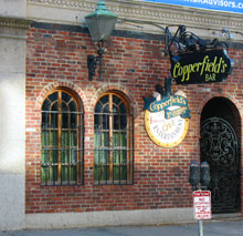 Copperfields Bar near Boston's Fenway Park is one of the Best Boston Bars for live music and rock bands