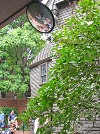 Paul Revere House in North End, Boston