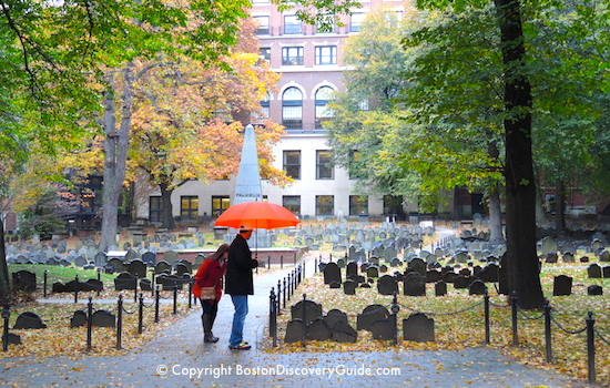 Granary Burying Ground - Boston Freedom Trail site