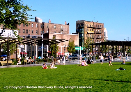 Photo of Rose Kennedy Greenway North End Park