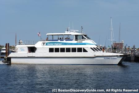 Boston Harbor Island Express boat