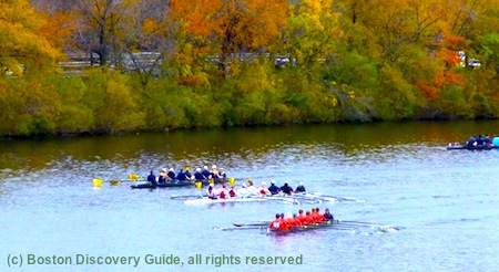 Head of the Charles Regatta - Top Boston October Event