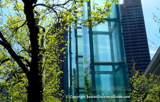 Boston Holocaust Memorial Towers