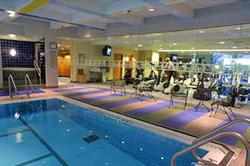 Hyatt Regency Hotel Boston - photo of indoor swimming pool and fitness center