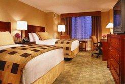 Boston Hyatt Regency - photo of room with 2 double beds