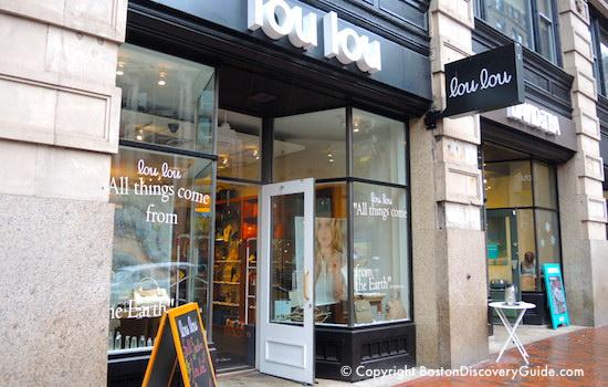 Lou Lou on Boston's Washington Street