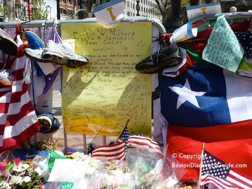Boston Marathon memorials
