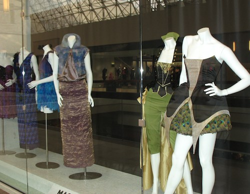 Photo of fashions by students at Massachusetts College of Art and Design / Colleges in Boston - www.boston-discovery-guide.com