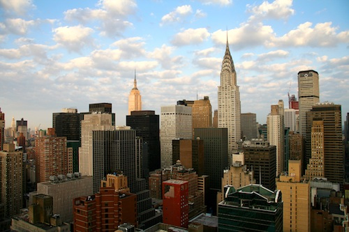Best New York tourist attractions include this famous skyline