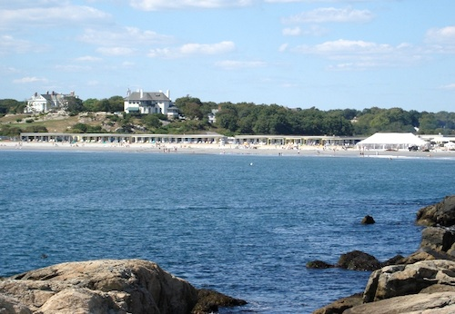 Photo of Beach in Newport, Rhode Island / Newport Tourism Attractions -  www.boston-discovery-guide.com