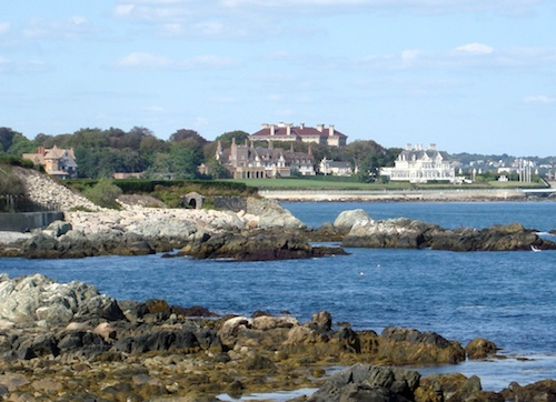 Top Newport tourism sites include Cliff Walk / Newport Tourism Attractions - www.boston-discovery-guide.com