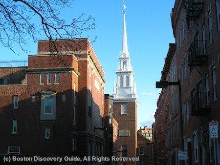 Bostons North End Italian Restaurants Festivals Paul Revere