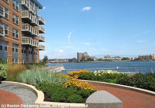 Fairmont Battery Wharf Hotel in Boston's North End, next to Harborwalk and Boston Harborl