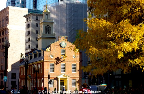 Old State House Museum in Boston - www.boston-discovery-guide.com