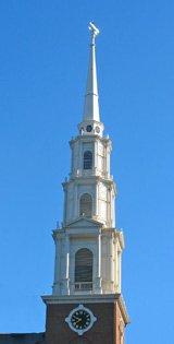 Park Street Church Steeple - Boston