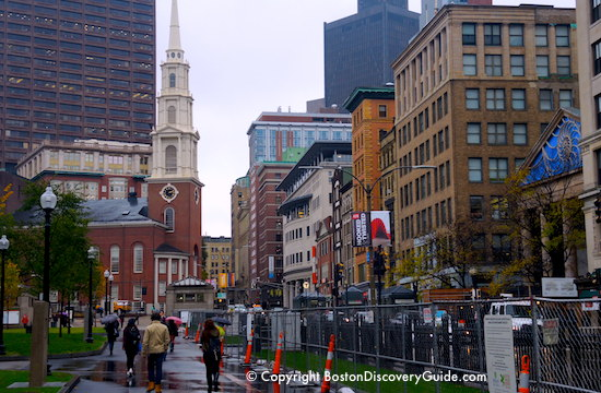 Park Street Church on Boston's Freedom Trail