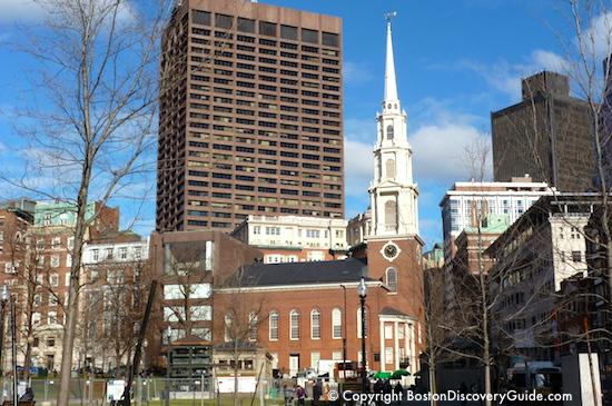 Park Street Church on Boston's Freedom Trail