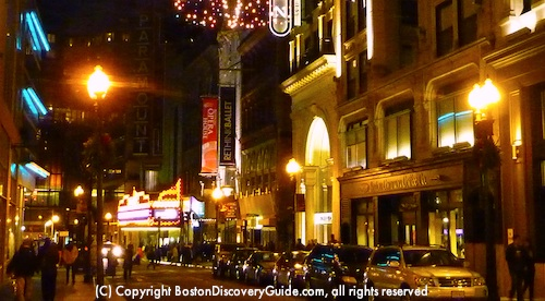 Boston Parking Garages Near Theatre District Www Discovery Guide