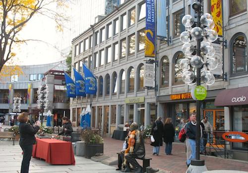 Photo of Faneuil Hall Marketplace, in Boston, Massachusetts, USA