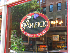 Panificio Bakery Bistro on Beacon Hill in Boston, MA