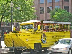 Why Boston Duck Tours attract locals and tourists