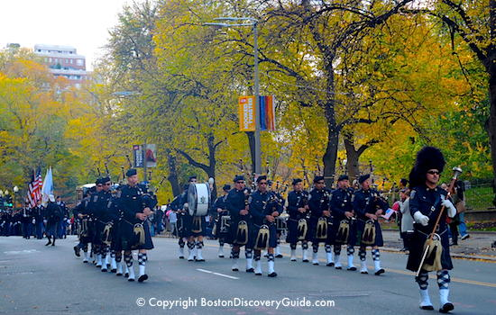 Veterans Day Parade - Boston Police Fife and Drum Corp