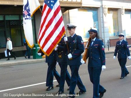 Official Boston Veterans Day Parade