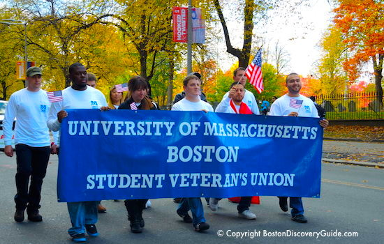 Veterans Day events in Boston
