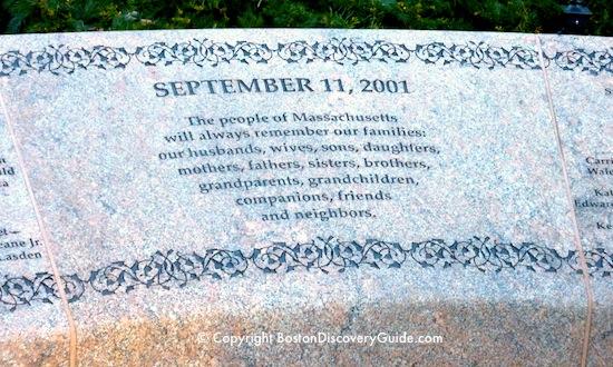 Garden of Remembrance inscription