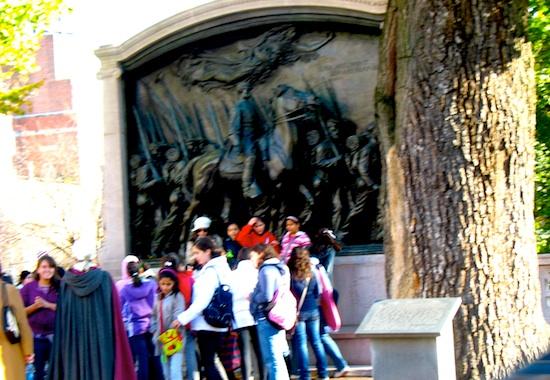 Robert Gould Shaw and 54th Regiment Memorial