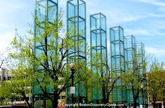 New England Holocaust Memorial in Boston