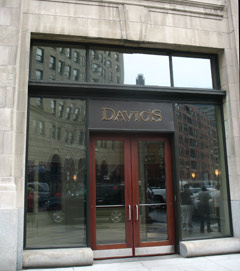 Davio's Northern Italian restaurant