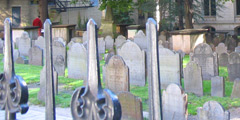King's Chapel Burying Ground Gravestones