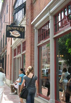 Panificio Bakery Bistro Boston Italian Restaurant