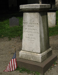 Granary Burial Ground - Paul Revere