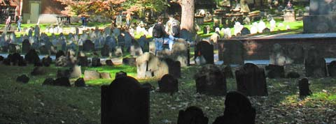 Granary Burial Ground - Boston Freedom Trail site