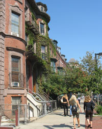 Restored Victorian Houses - Boston's South End